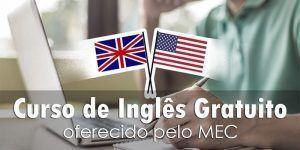 curso de inglês gratuito MEC
