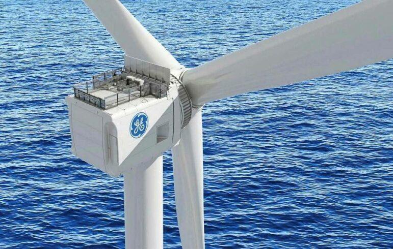 GE tubirna energia eólica offshore concessionária