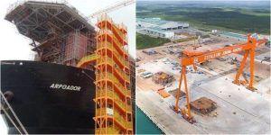Petrobras Espírito Santo Navio Sonda Industria Naval Estaleiro Jurong Aracruz