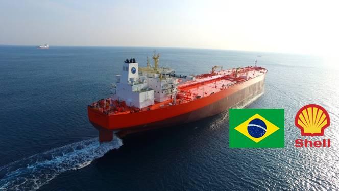 Shell Navio Tanque Contrato Petróleo