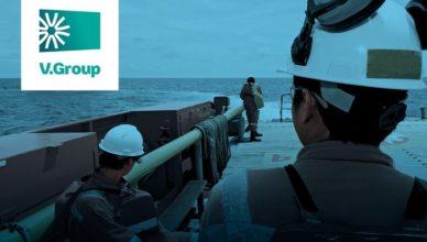 V.Group com vagas marítimas para atender contrato de navio tanque