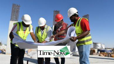 Mais de 30 vagas de emprego abertas na Time-Now Engenharia