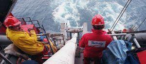vagas de emprego offshore Rio e Vitória Technip SENAI