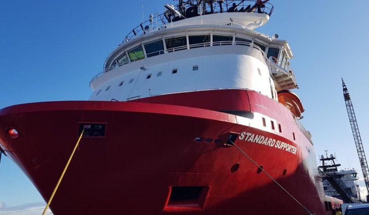 transporte marítimo embarcações PSV