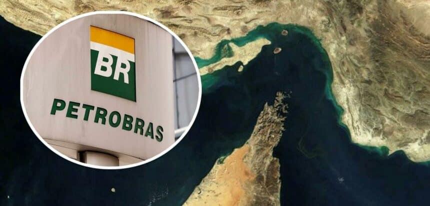 Após ataque do Irã, Petrobras proíbe trânsito de navios pelo estreito de Ormuz