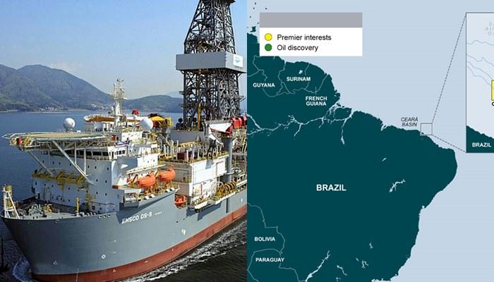 Ensco offshore Ceará Premier Oil