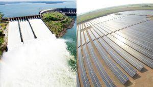 Geração de energia eólica e solar elétrica Aneel