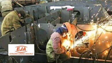 Muitas vagas de emprego para construção naval no Estaleiro Jurong Aracruz ES, hoje 9 de janeiro
