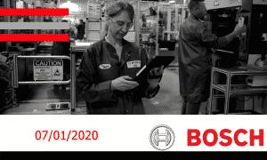 Multinacional alemã Bosch abre mais de 50 vagas de ensino médio, superior e estágio para início em março