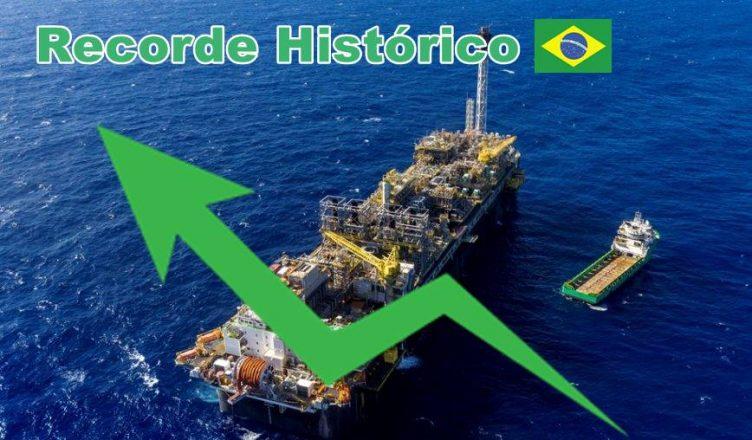 Petróleo Gás Recorde pré-sal ANP