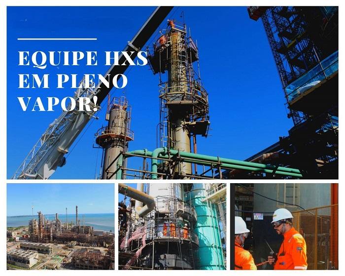 Petrobras CE RN obras HXS