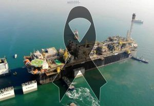 Petrobras P-70 acidente feridos E MORTOS