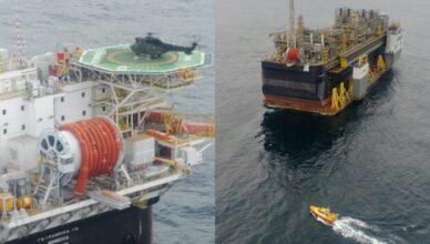Petrobras acidente resgate