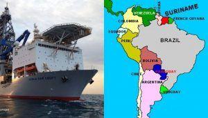 Suriname petróleo Noble óleo Apache