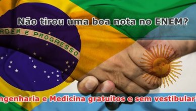 Universidades da Argentina oferecem cursos gratuitos em Engenharia e Medicina sem vestibular para brasileiros