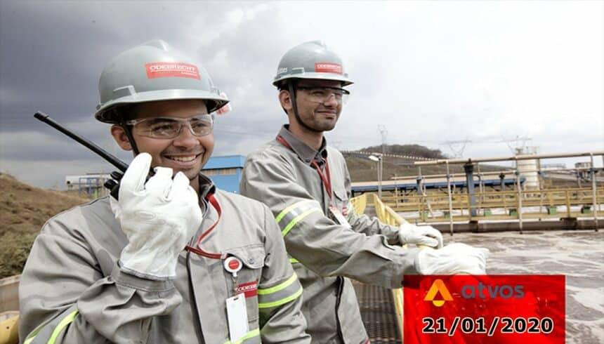 Empresa do grupo Odebrecht anuncia vagas de emprego na área de produção e manutenção no MT