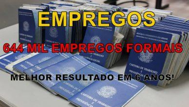 Brasil cria 644 mil vagas de emprego com carteira em 2019, sendo 71 mil na construção civil