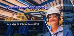 Fornecedor global na produção de Nióbio abre vagas de emprego para ensino médio técnico
