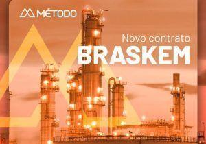 Método Potencial comemora contrato para serviços de construção e montagem com a líder do segmento petroquímico Braskem