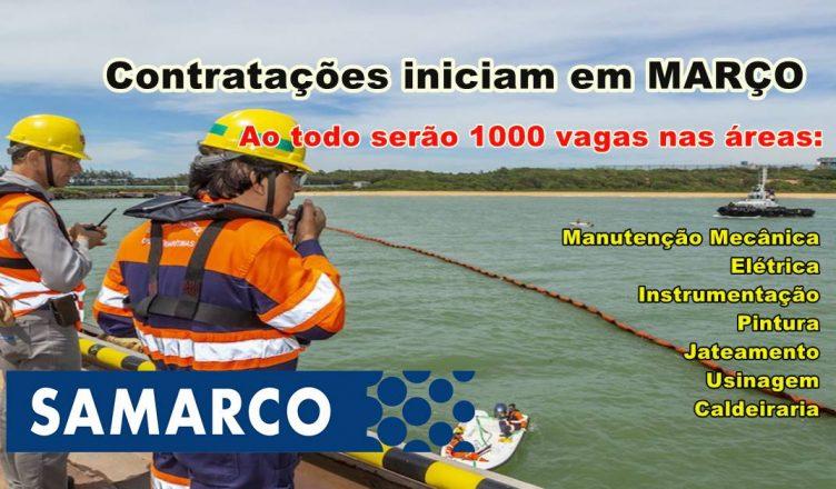 Empresas aceitam currículo para processo seletivo em manutenção de usina da Samarco no ES