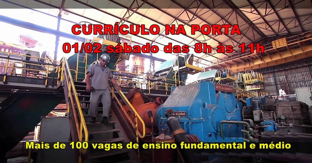 Gigantesco processo seletivo com mais de 100 vagas de ensino fundamental e médio para trabalhar em usina em SP