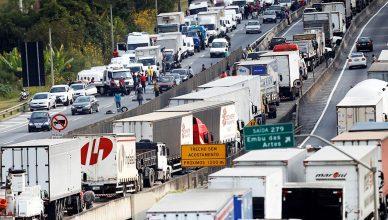 caminhoneiros autônomos, tabela de frete, greve