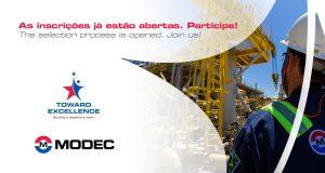 Processo seletivo offshore para Técnicos de diversas especialidades na gigante Modec, hoje 17 de fevereiro