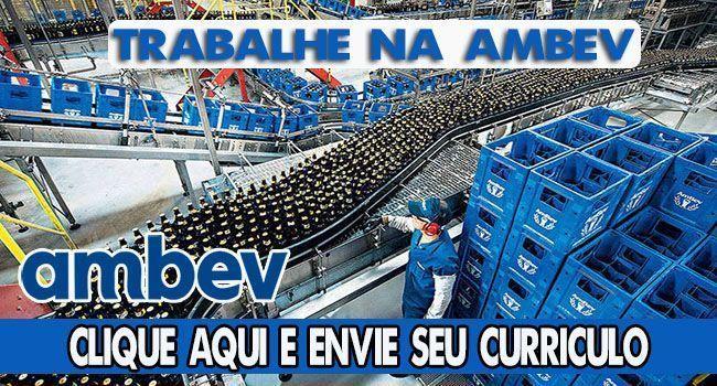 400 vagas de emprego para todos os níveis de escolaridade na maior cervejaria do Brasil, a AMBEV