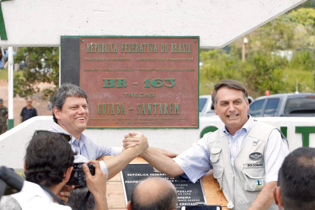 Após mais de 45 anos, Governo Bolsonaro conclui obras de pavimentação da BR-163 entre Pará e Mato Grosso