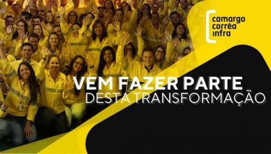 Construtora Camargo Corrêa Infra vagas de emprego Minas e Sergipe
