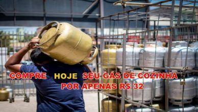 Gás de cozinha será vendido por 32 reais nesta quinta-feira por iniciativa de petroleiros em Santos, no estado de São Paulo