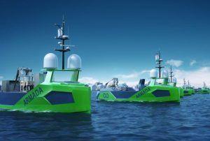 Ocean Infinity lança primeira frota de robôs marinhos totalmente autônomos para atividades de pesquisa e exploração de petróleo