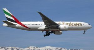 São Paulo Emirates companhia aérea