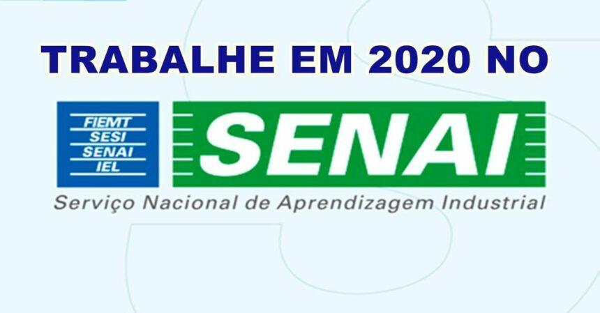 Concurso SENAI abre vagas de ensino médio e superior; salários de até R$6.973,86
