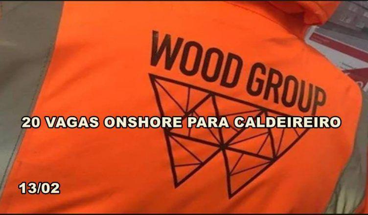 20 vagas de emprego para caldeireiro em Macaé na gigante global Wood Group