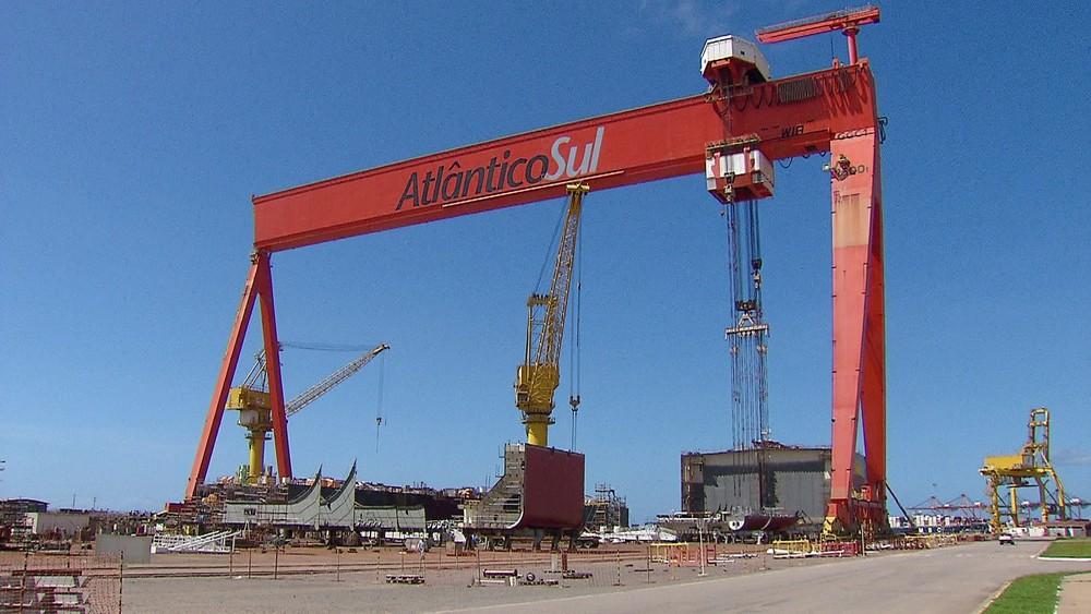 Estaleiro Atlântico Sul tem pedido de recuperação judicial aprovado pela justiça