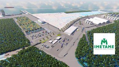 Imetame inicia contagem regressiva para a construção do complexo logístico portuário no Espírito Santo
