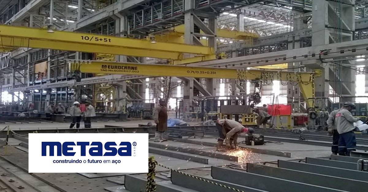 Há vagas de emprego na Metasa para Técnicos e Engenheiros, hoje 26 de fevereiro no RS