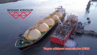 Para atender demanda offshore multinacional Wood Group abre 16 vagas de emprego para técnicos e engenheiro