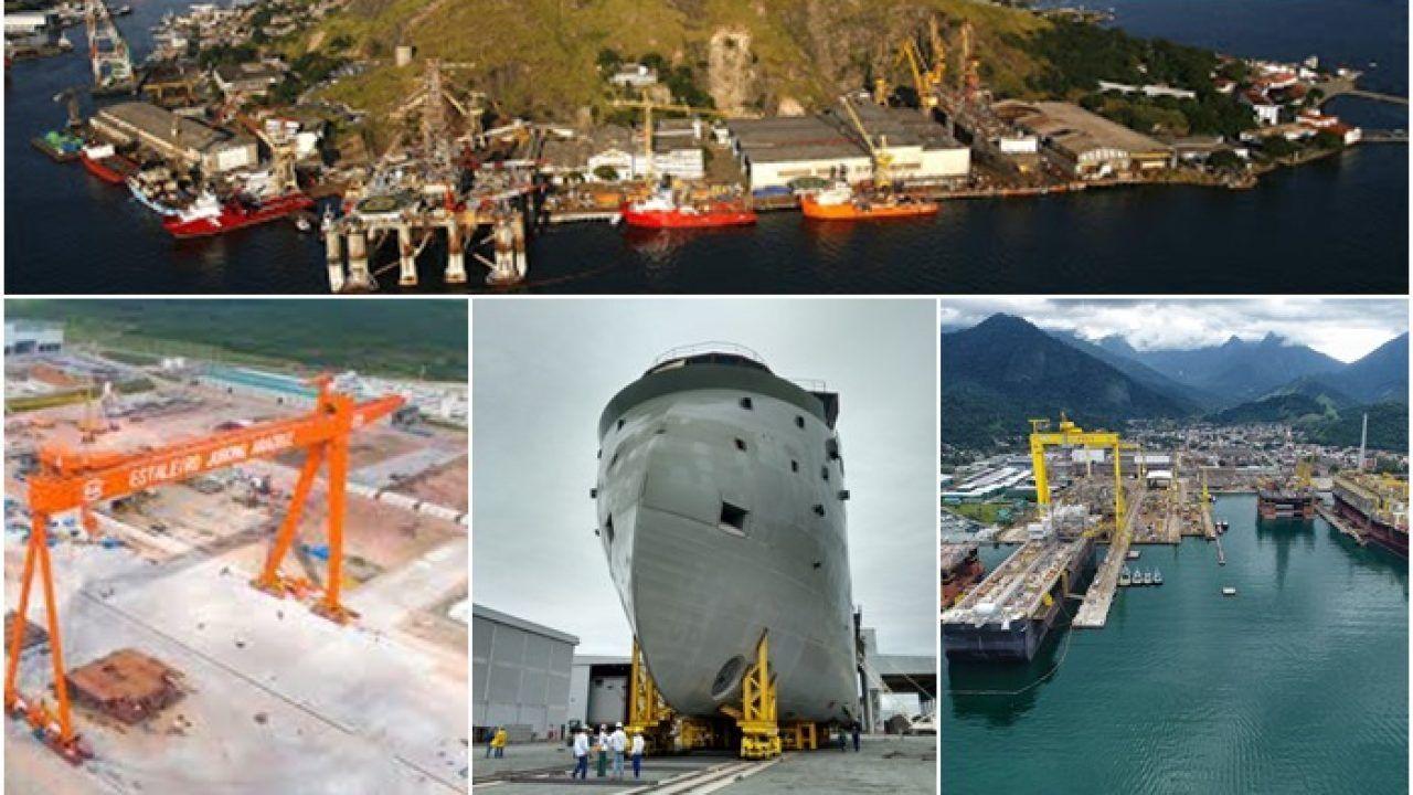 Investimentos para o setor naval brasileiro de 5,6 bilhões de reais aprovado pelo Fundo da Marinha Mercante