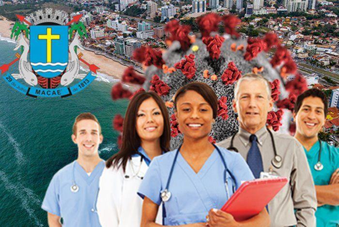 Macaé edital profissionais Saúde concurso coronavírus