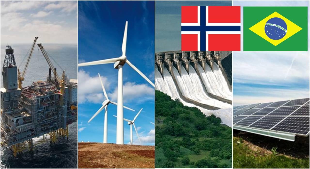 Noruega Brasil Investimentos energia solar renováveis