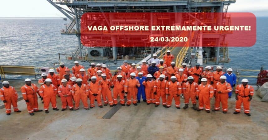 Multinacional requisita Engenheiros de Segurança Offshore para trabalhar coordenando Planos de Resposta Emergenciais em Plataforma, a vaga é extremante urgente