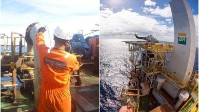 Vagas offshore Rio das Ostras Tech-Insp Petrobras