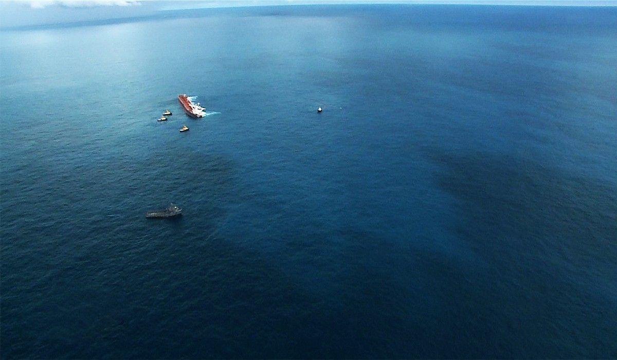 Vale acidente vazamento de óleo petróleo