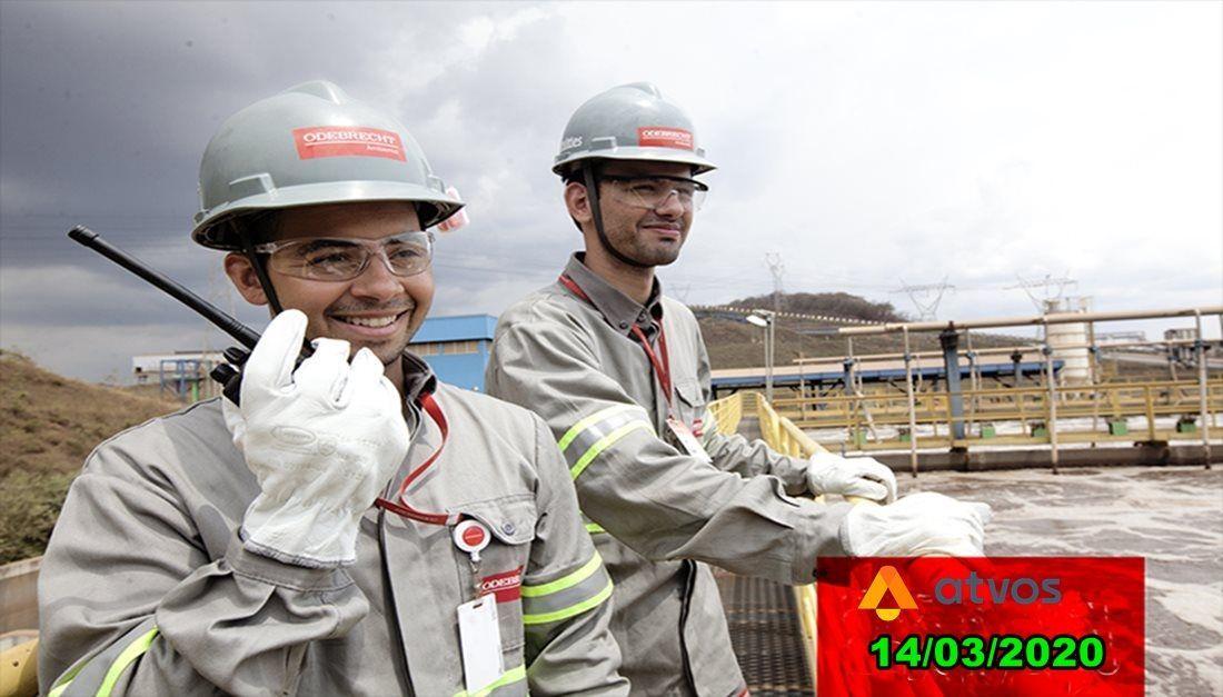 Cadastro de currículo para trabalhar no setor de manutenção da Atvos, do Grupo Odebrecht