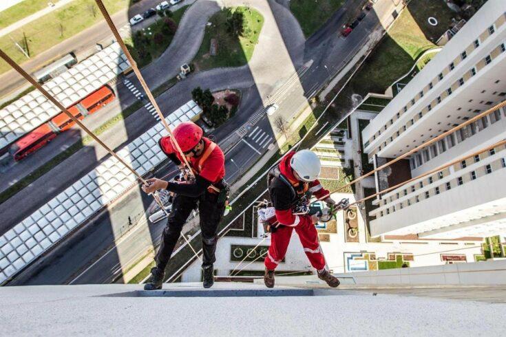 construção civil alpinismo industrial trabalho
