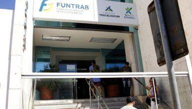 Funtrab divulga varias vagas de emprego