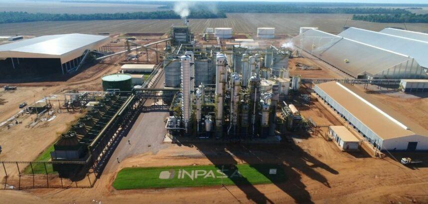 Obras da segunda planta da Usina de etanol de milho da Inpasa Bioenergia vai gerar 2 mil vagas de emprego diretos e indiretos no MT