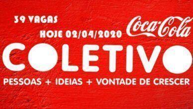 Coca-Cola contrata 39 profissionais para vagas de ajudantes, auxiliares, técnicos, assistentes e mais